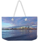 Seattle Skyline Cityscape Weekender Tote Bag