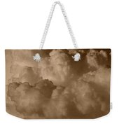 Sepia Clouds Weekender Tote Bag
