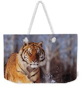 Siberian Tiger Weekender Tote Bag