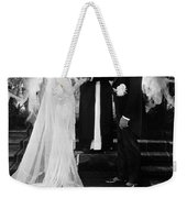 Silent Film Still: Wedding Weekender Tote Bag