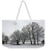 Snow On Epsom Downs Surrey Uk Weekender Tote Bag