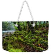 Spring Along Elk River Weekender Tote Bag