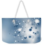 Starry Background Weekender Tote Bag by Les Cunliffe