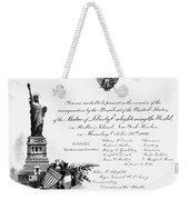 Statue Of Liberty, 1886 Weekender Tote Bag