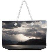 Storm On Karakul Lake Weekender Tote Bag by Konstantin Dikovsky