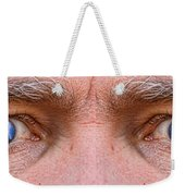 Stormy Angry Eyes Weekender Tote Bag