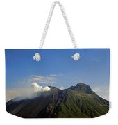 Stromboli Volcano On The Island Of Stromboli Weekender Tote Bag