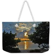 3- Sunrise Cruise Weekender Tote Bag