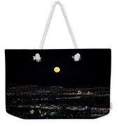 Super Moon In Las Vegas Weekender Tote Bag