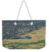 Superb Landscape In Rocky Mountain National Park Weekender Tote Bag