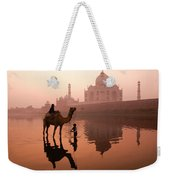 Taj Mahal At Dawn Weekender Tote Bag