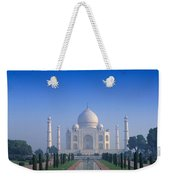 Taj Mahal View Weekender Tote Bag