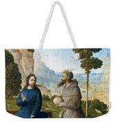 Temptation Of Christ Weekender Tote Bag