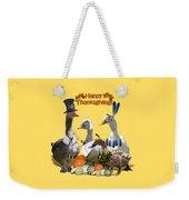 Thanksgiving Ducks Weekender Tote Bag