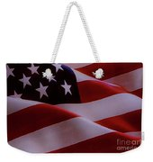 The American Flag Weekender Tote Bag
