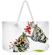 The Extraordinary Rice Paper Butterfly A Series Weekender Tote Bag