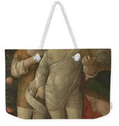 The Holy Family With Saint John Weekender Tote Bag