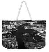 The Houston Ship Channel Weekender Tote Bag