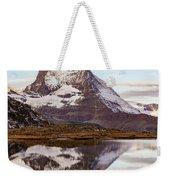 The Matterhorn Mountain In Switzerland Weekender Tote Bag