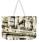 The Prospect Of Whitby Pub London Vintage Weekender Tote Bag