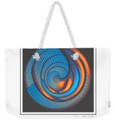 The Seventh Opinion Top View Weekender Tote Bag