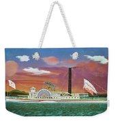 The Steamship Syracuse Weekender Tote Bag
