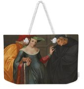 The Woman Between Two Ages Weekender Tote Bag