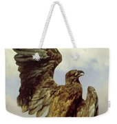 The Wounded Eagle Weekender Tote Bag