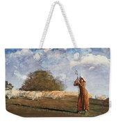 The Young Shepherdess Weekender Tote Bag