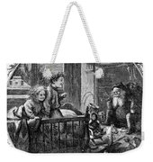 Thomas Nast: Christmas Weekender Tote Bag by Granger