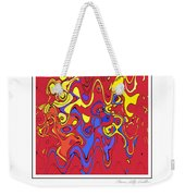 Tickle Monster Weekender Tote Bag