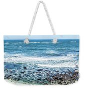 Usa California Pacific Ocean Coast Shoreline Weekender Tote Bag
