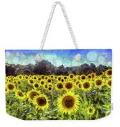 Van Gogh Sunflowers Weekender Tote Bag