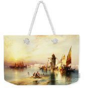 Venice Weekender Tote Bag by Thomas Moran
