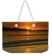 Vibrant Orange Sunrise Seascape Weekender Tote Bag