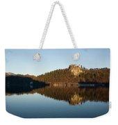 View Across Lake Bled Weekender Tote Bag