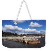 View From The Cobb - Lyme Regis Weekender Tote Bag