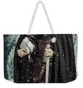 Viking Warrior With Sword Weekender Tote Bag