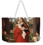 Virgin And Child With Four Angels Weekender Tote Bag