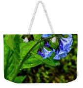 Virginia Bluebell Weekender Tote Bag