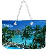 Waikiki And Diamond Head Weekender Tote Bag