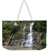 Waterfall, Quebec Weekender Tote Bag
