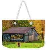 West Virginia Barn Weekender Tote Bag