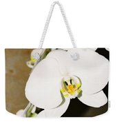 3 White Orchids Weekender Tote Bag