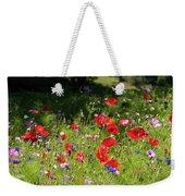 Wild Flowers Art Weekender Tote Bag