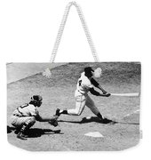 Willie Mays (1931- ) Weekender Tote Bag