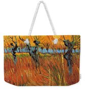Willows At Sunset Weekender Tote Bag