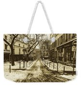 Winter In Paris Weekender Tote Bag