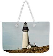 Yaquina Head Lighthouse - Toned By Texture Weekender Tote Bag