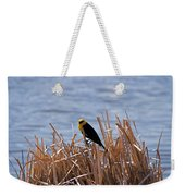 Yellow Headed Blackbird Weekender Tote Bag